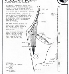 vulcan harp construction plans [ 1876 x 2500 Pixel ]