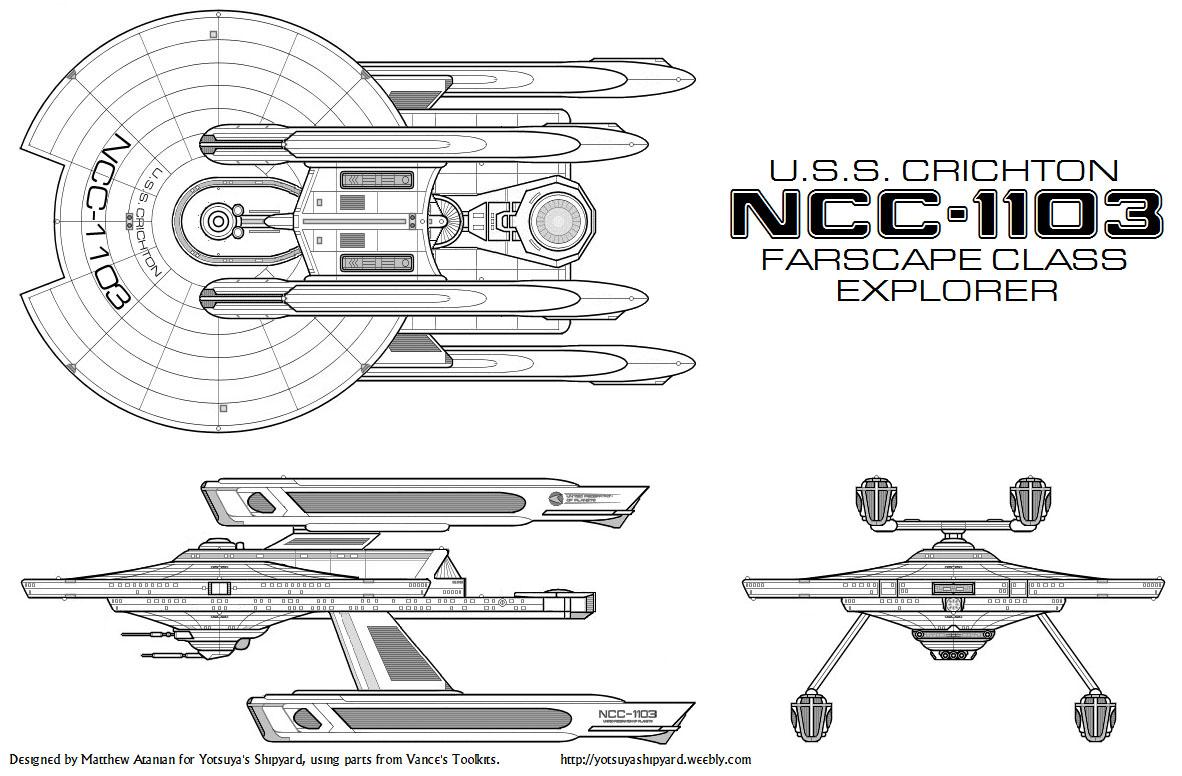 Star Trek Blueprints Yotsuya S Shipyard