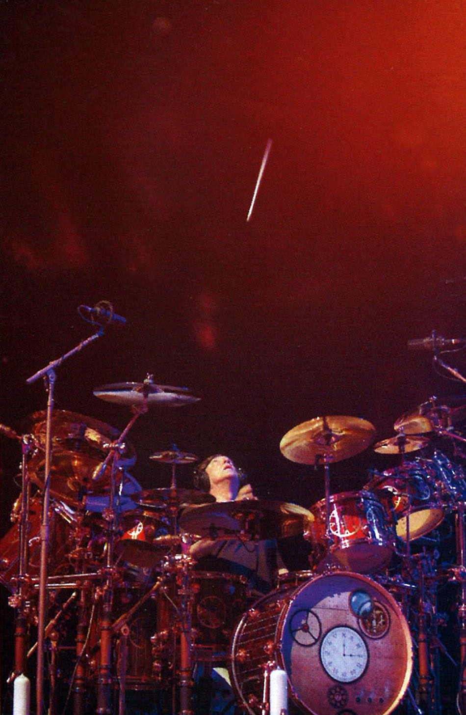 Rush Moving Pictures Live 2011  Album Artwork