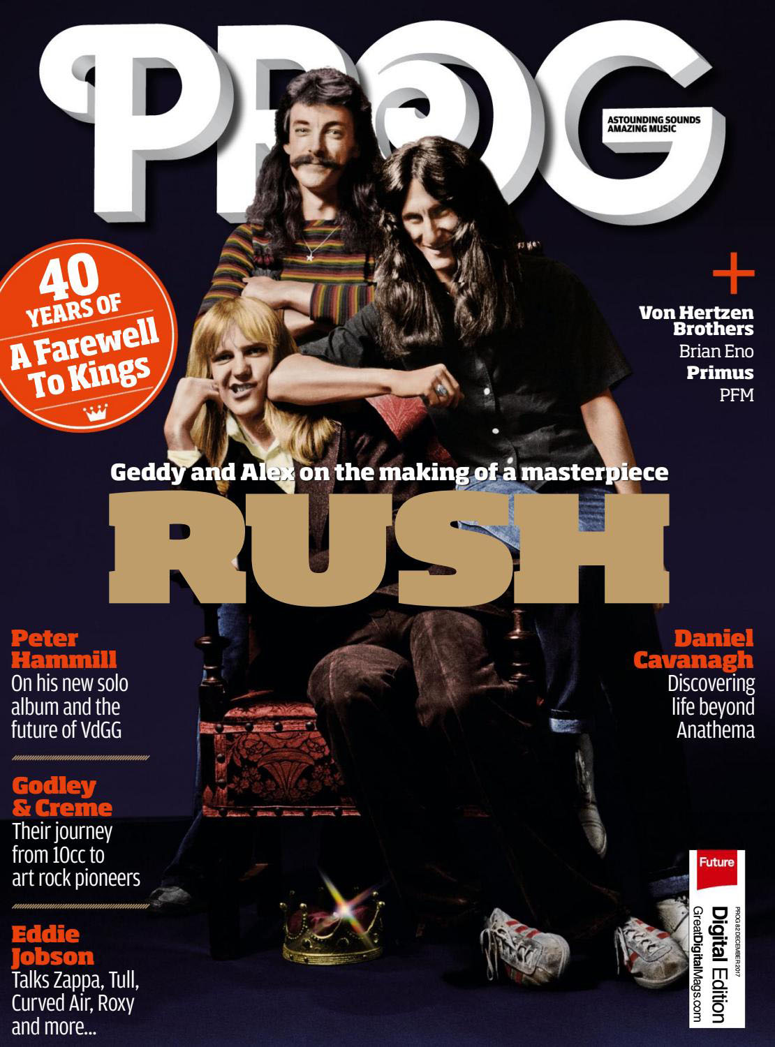 A Farewell To Kings At 40 The Making Of Rush's Classic 70