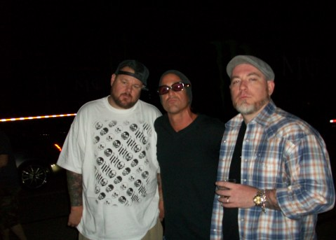 David Schoelles With Big-B & Everlast at 2010's Epicenter in Los Angeles