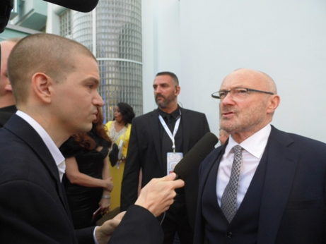 Phil Collins, Phil Collins 2016, Chris Yandek Phil Collins, Phil Collins Fillmore Miami Beach, Phil Collins Comeback, Phil Collins Miami, Phil Collins Miami Beach, Little Dreams Foundation Gala Phil Collins, Little Dreams Foundation Benefit Gala 2016, Little Dreams Foundation Phil Collins, Phil Collins Interview 2016