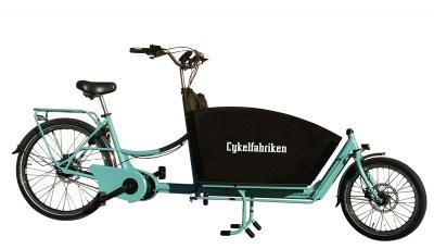 Lådcykel och bakfiets från Cykelfabriken