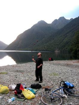 Lake Gunn camping