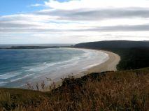 Sandstrand Nya Zeeland