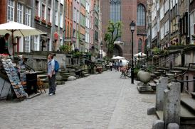 Gdansk gamla stan