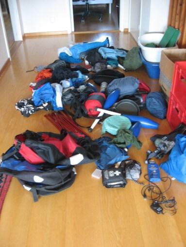Packning efter Nya Zeeland