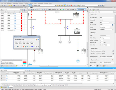 CYME Power Engineering Software - Fault Analyses