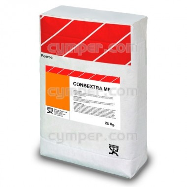 Conbextra MF es un microhormigón que sólo requiere la adición de agua limpia y áridos seleccionados a pie de obra.