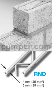 Murfor - Armadura de refuerzo para fábrica de bloques - Imagen 2