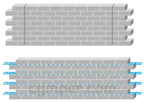Murfor - Armadura de refuerzo para fábrica de bloques - Imagen 12