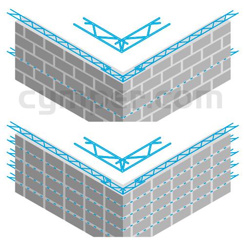Murfor - Armadura de refuerzo para fábrica de bloques - Imagen 23