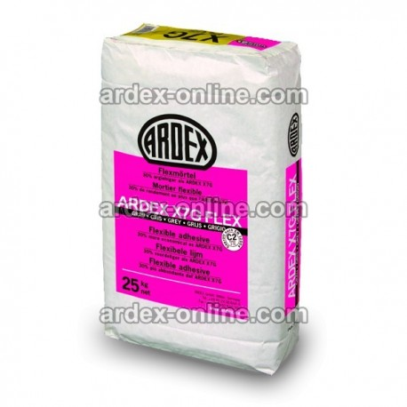 ARDEX X7G FLEX - Adhesivo flexible para materiales poco porosos