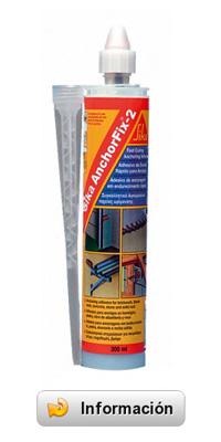 Sika Anchorfix 2 - Resina epoxi acrilato para anclajes