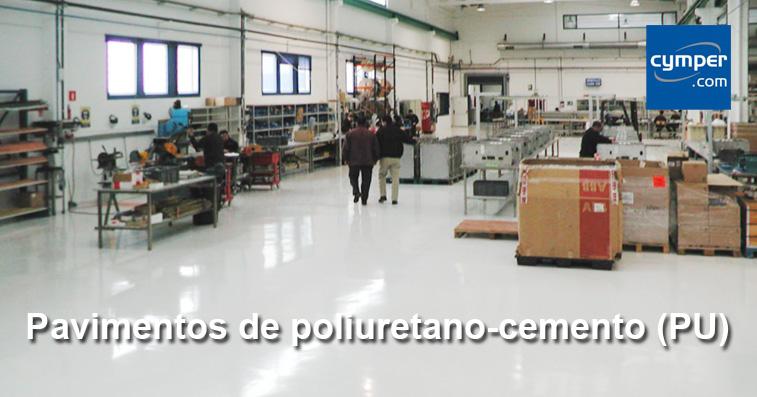 Pavimentos continuos con poliuretano-cemento (PU)