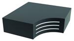 Tipo B: Apoyo laminado completamente recubierto con elastómero que comprende al menos dos placas de refuerzo de acero.