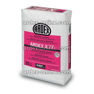 ARDEX X77 - Cemento cola flexible para materiales poco porosos