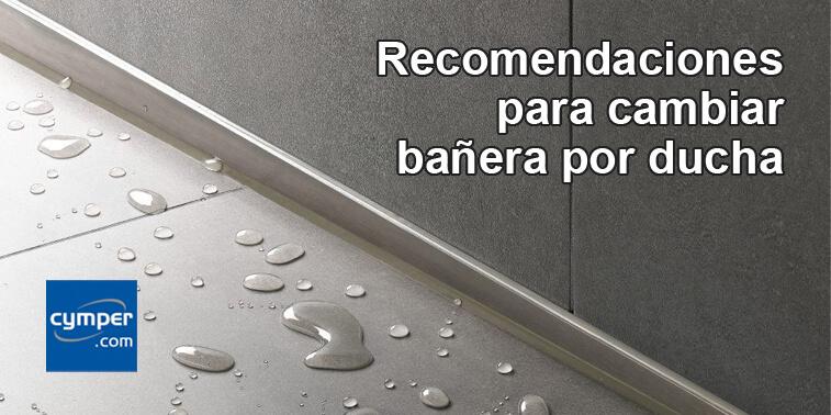 Cada vez más personas realizan reformas de baños y deciden cambiar bañera por ducha.