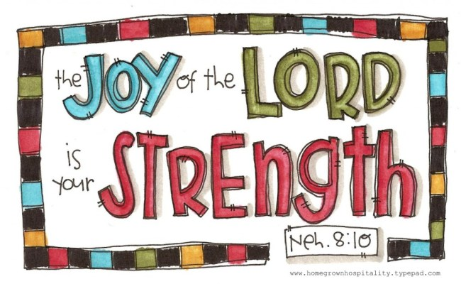 Nehemiah 8:10, Cymplified!