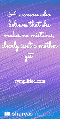 a woman who makes no mistakes quote