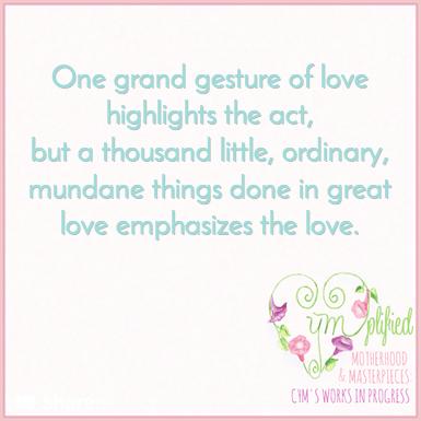 love in the mundane quote
