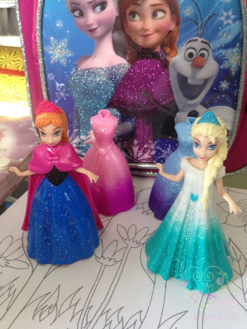 frozen magiclip elsa and anna from singapore