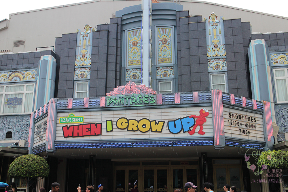 universal studios easter stage show