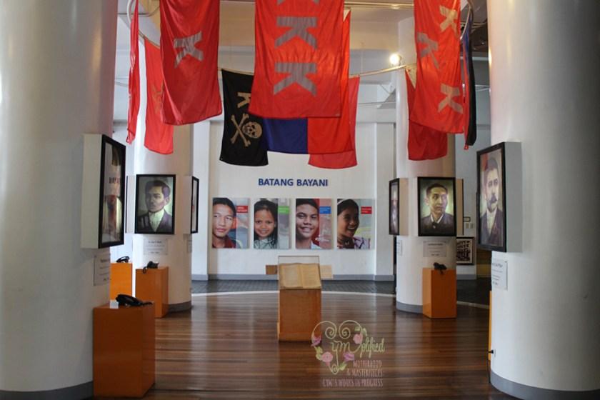 museo pambata heroes room