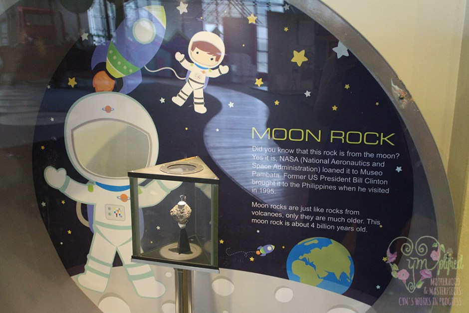 museo pambata moon rock