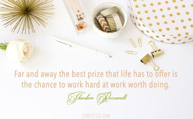 Work Worth Doing, Cymplified!