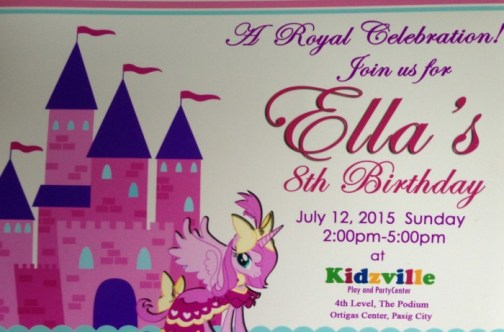 kidzville party invitation revised