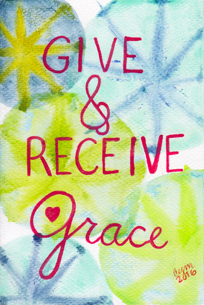 give & receive grace
