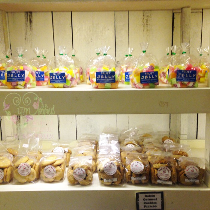 fruit jelly & cookies for sale @ bag of beans twin lakes
