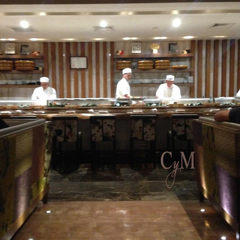 nobu restaurant sushi counter