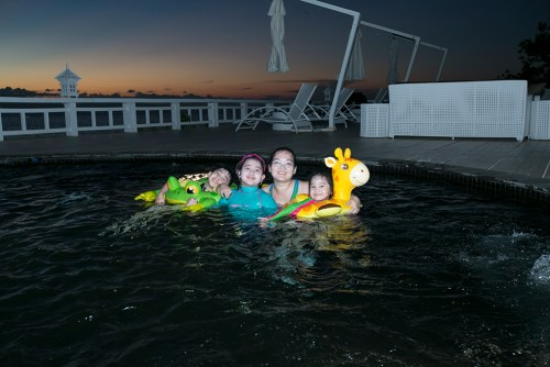 Balesin Island - night swim