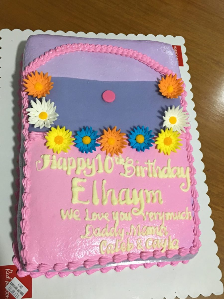 july birthday cake for ella