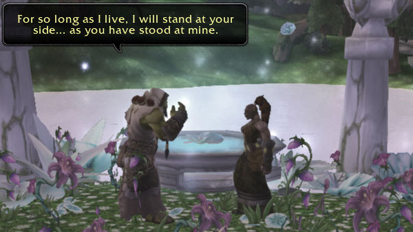 Thrall and Aggra's ceremony - part 5