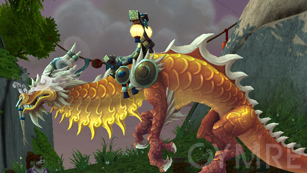 yellow Order of the Cloud Serpent