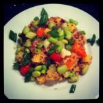 Today's Clean Eat – Quinoa and Edamame Salad