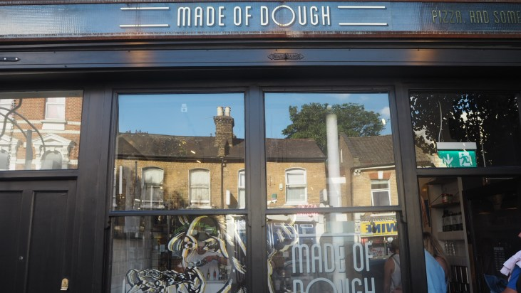 Made of dough Cocktails inside Pizza Made of Dough Peckham Cyntra Charlesworth Cyncity