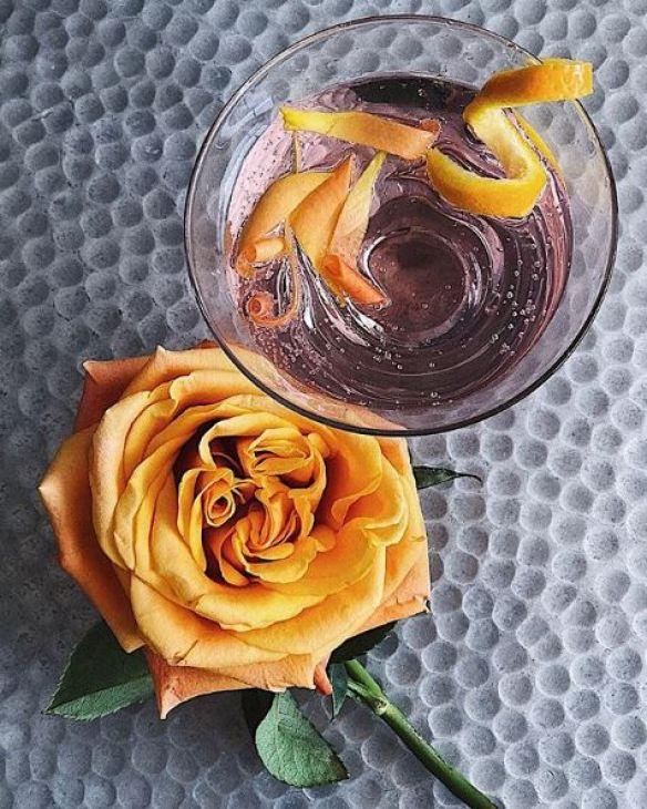 Rosewater and Orange Gin & Tonic, cyntra, cyntra charlesworth, cyncity
