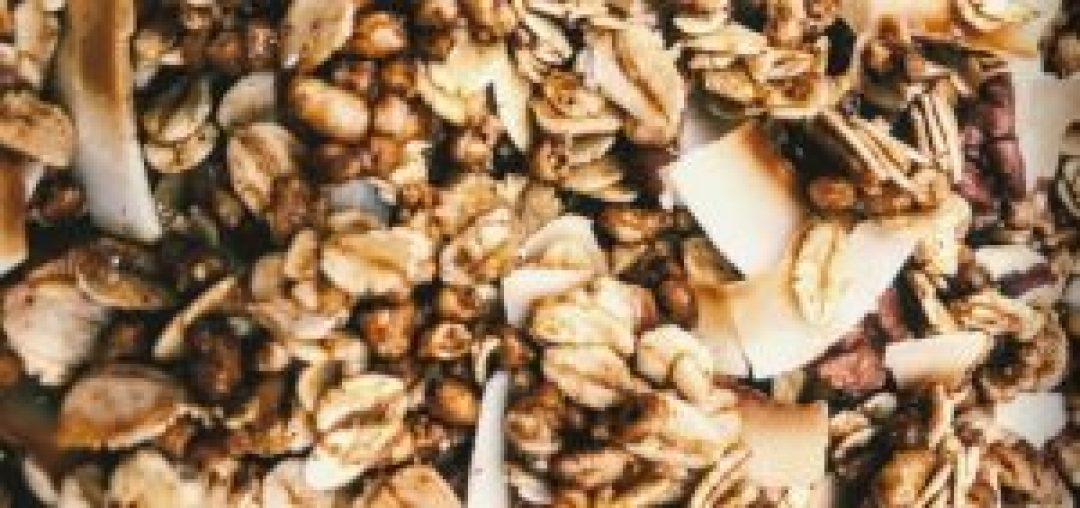 homemade granola, healthy granola