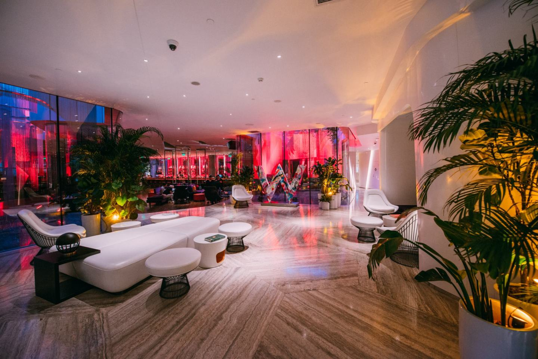 W Shanghai Hotel, lobby