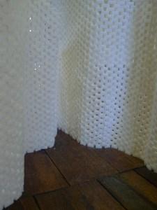 Au sucre et à mesure, pyramide de sucres en équilibre, exposition écholalie, ancienne maison consulaire, Mende.