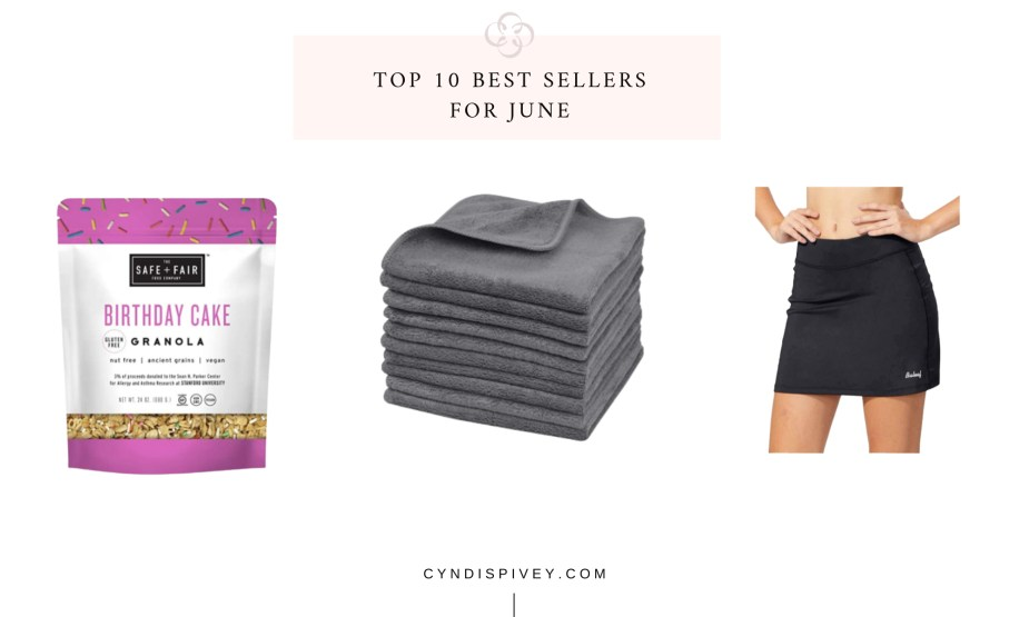 Top 10 Best Sellers for June
