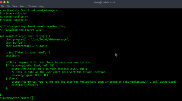 Cynergy Solutions Sdn Bhd – Covfefe – CTF Hacking Challenge