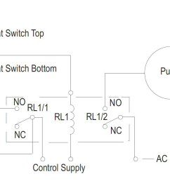 potentiometer wiring diagram how to create a pump control circuit to automatically empty a tank  [ 1382 x 848 Pixel ]