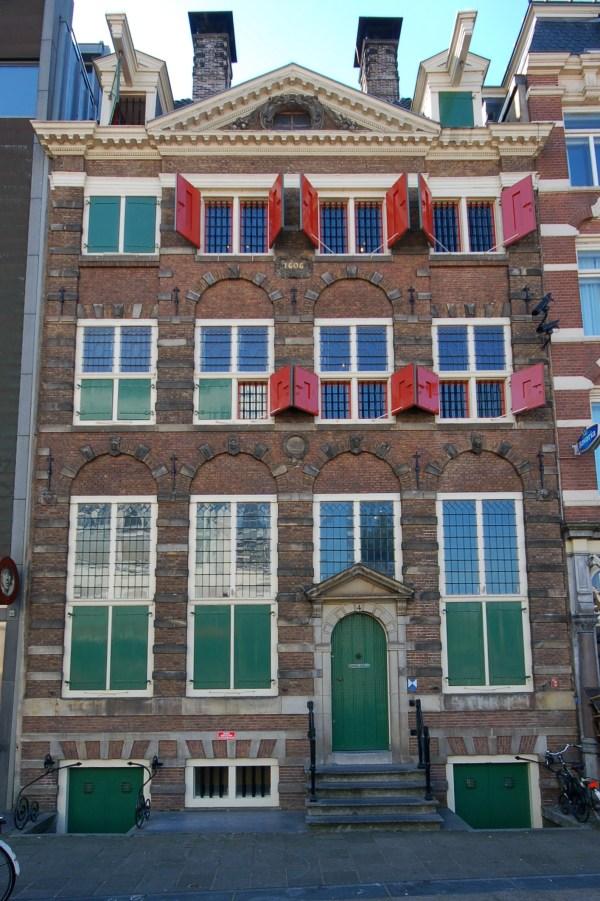 Rejs Amsterdam September 2010 Rembrandt House