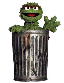 Its just another rotten day. Also, it turns out Oscar loves trash and pollution, so hes voting Republican in November. Those are some politicians a grouch can relate to, he was quoted as saying.