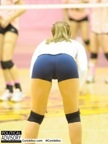 Volleyball chycks. Yummy.
